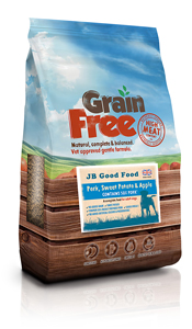 JB Grain Free dog food